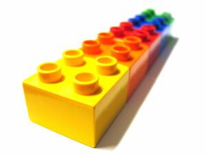 Legos in lineup